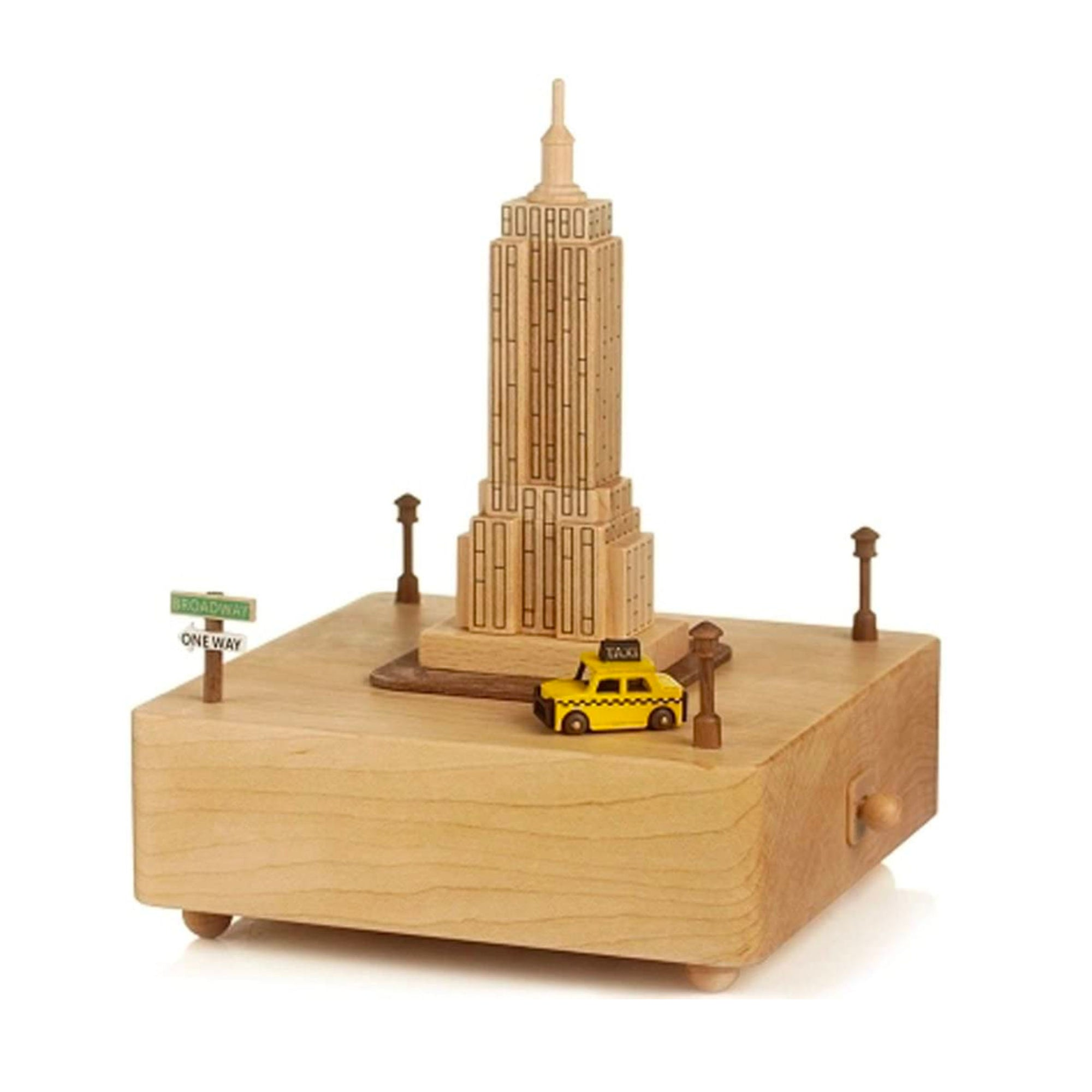 Wooderful Life wooden music box, New York City