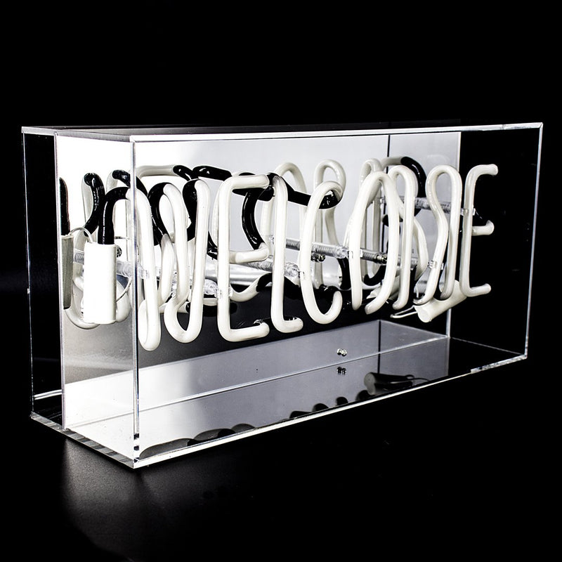 Locomocean Neon acrylic light box welcome