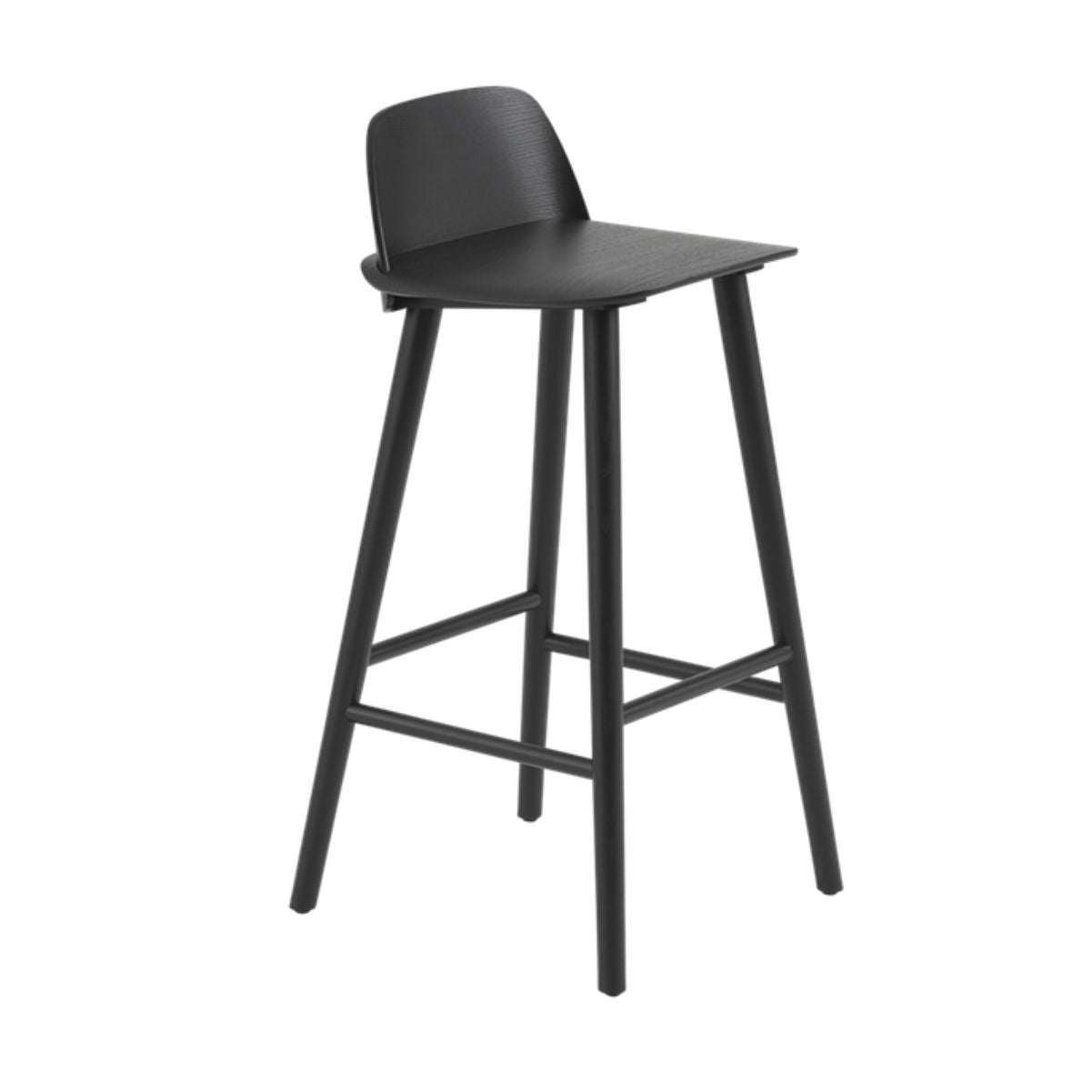 Muuto Nerd bar stool 65cm , black