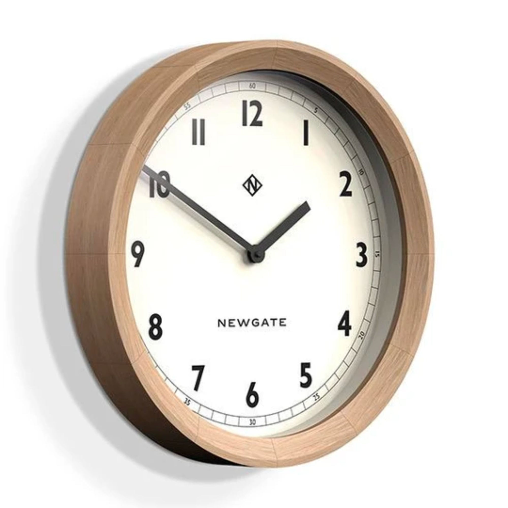 Newgate The General Wall Clock , Oak