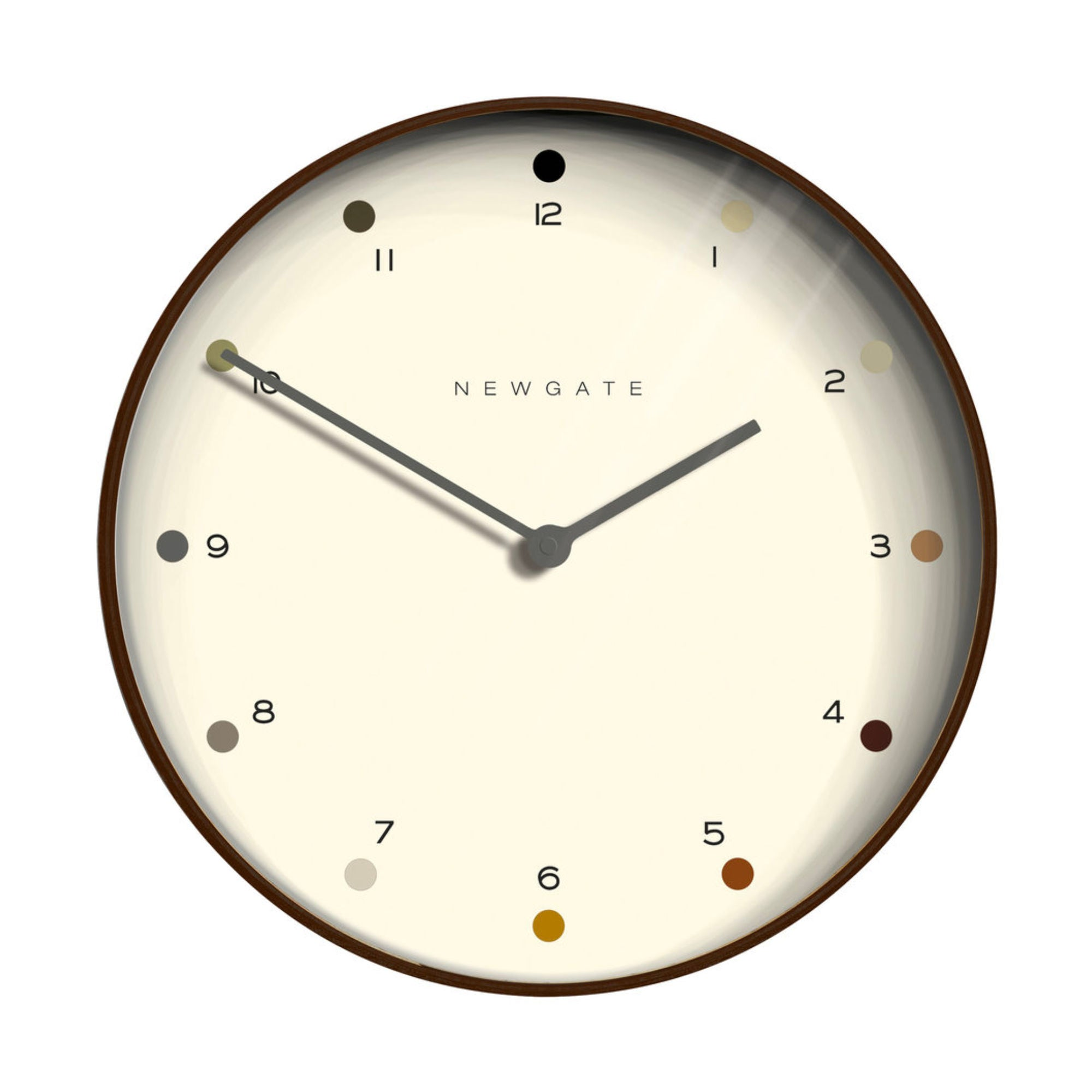 Newgate Mr Clarke Wall Clock , White