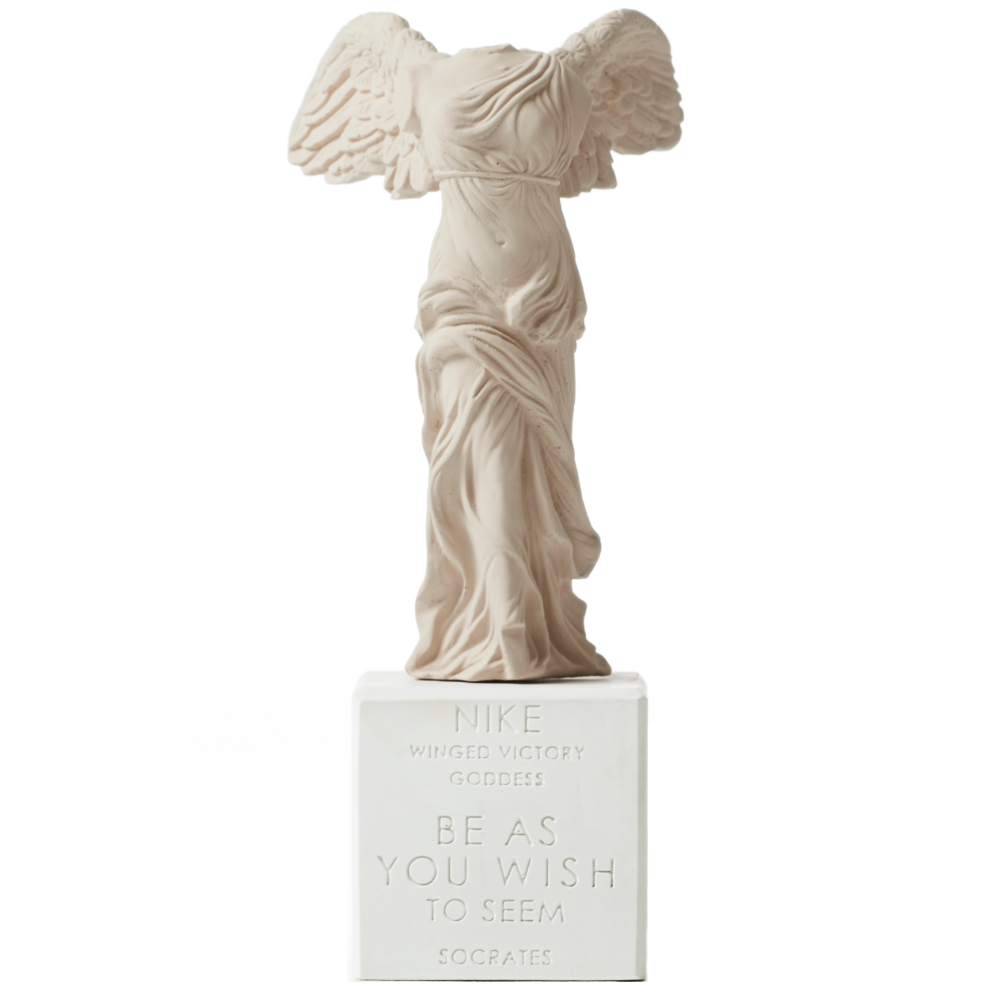 Sophia Winged Nike of Samothrace Statue 23cm