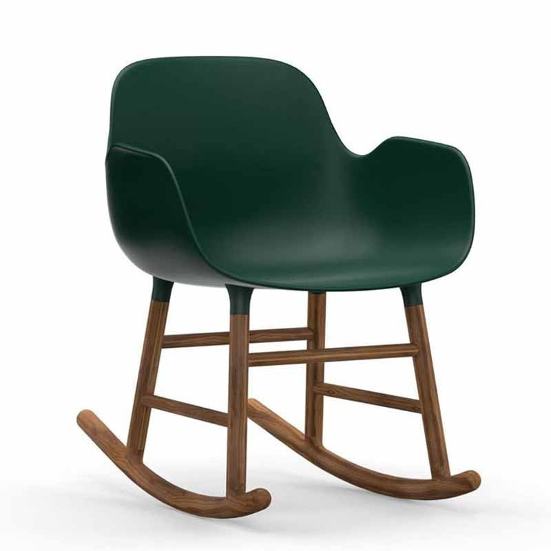 Normann Copenhagen Form Rocking Armchair Walnut Leg