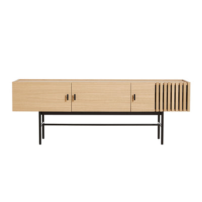 Woud Array Low Sideboard 150cm , White Pigmented Oak