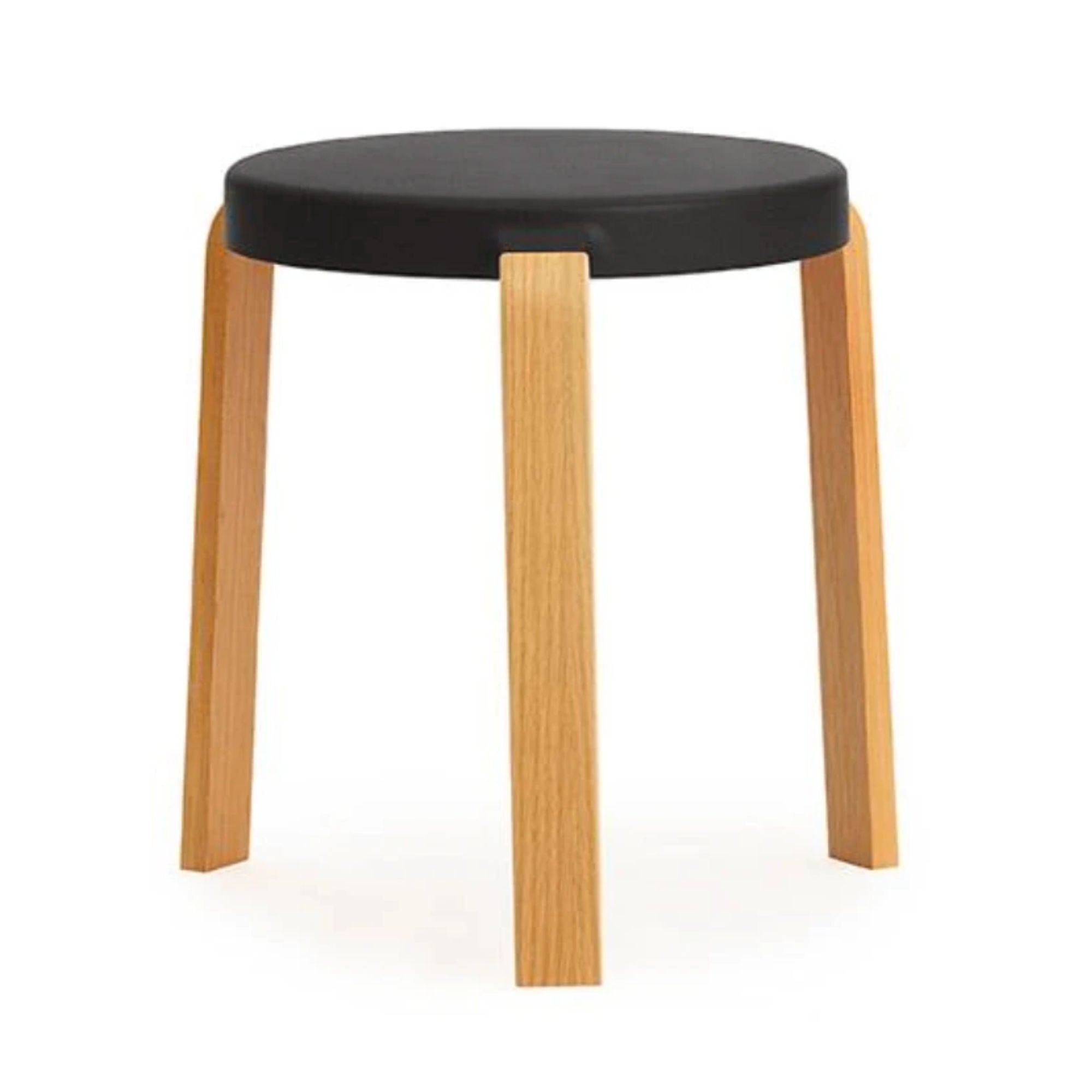 Normann Copenhagen Tap Stool , Black - Oak
