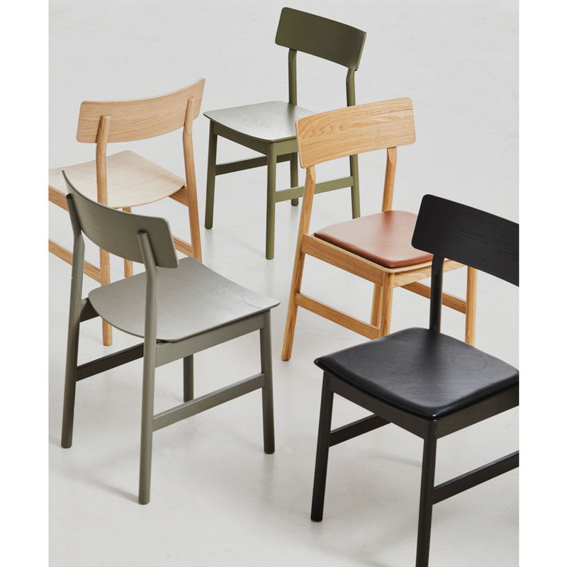 Woud Pause Dining Chair , Oiled Oak