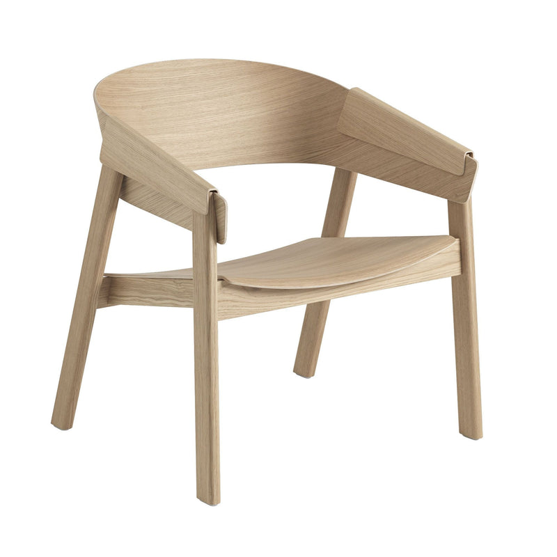 Muuto Cover lounge chair, oak/PU lacquer