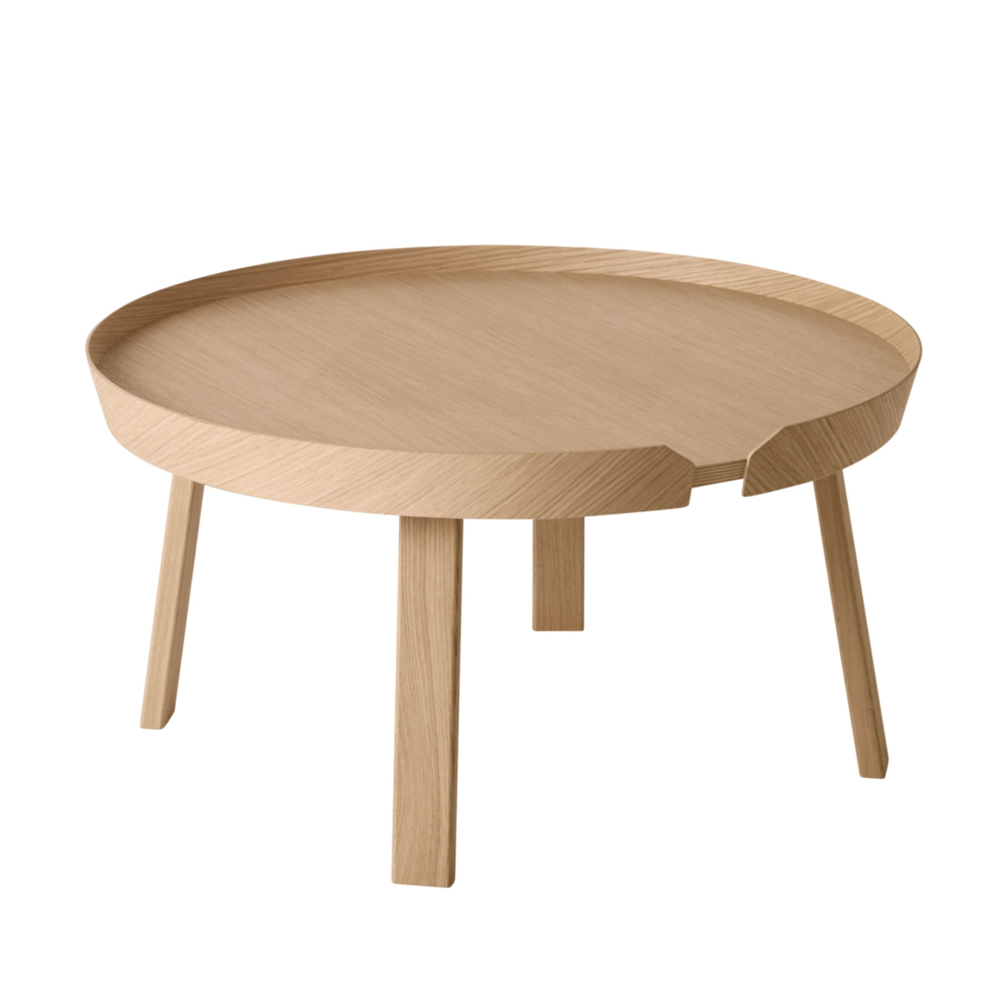 Muuto Around Coffee Table Large Ø72 , Oak