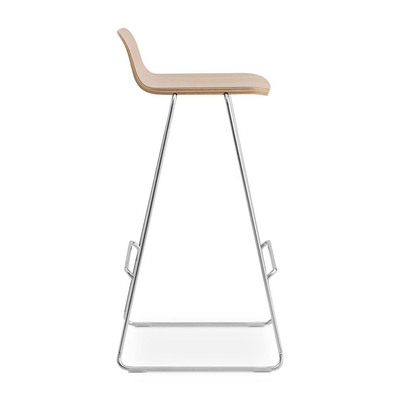 Normann Copenhagen Just Barstool 75cm w. Back