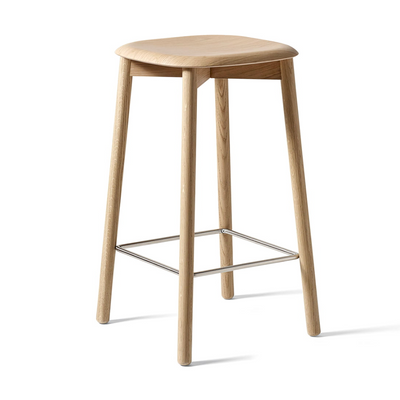 Hay Soft Edge 32 Counter Stool , Clear Lacquered Oak (65 cm)