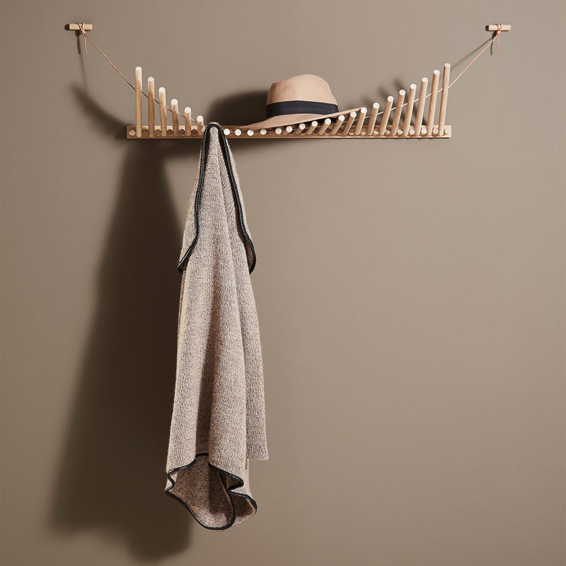 Woud Knaegt Coat Rack , Oak