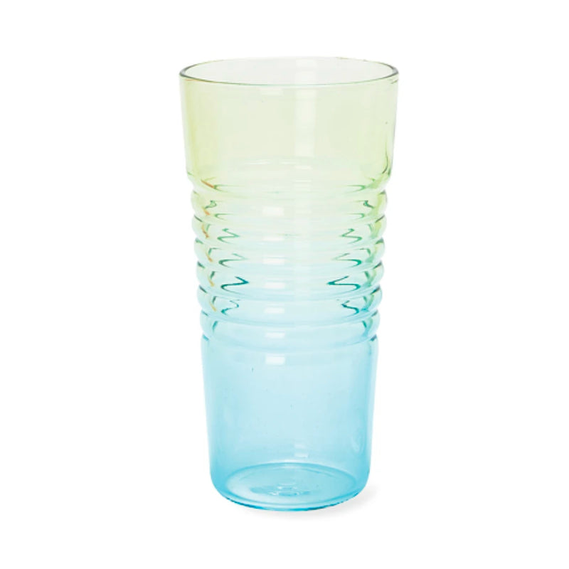 MoMA Ombré Glass, high - blue green
