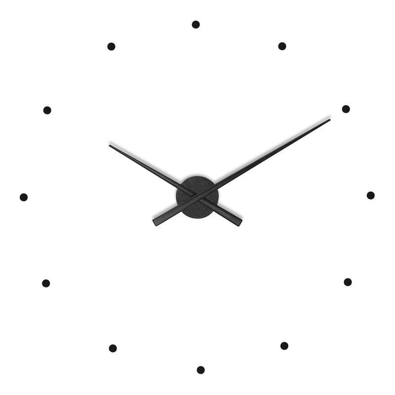Nomon OJ Wall Clock , Black