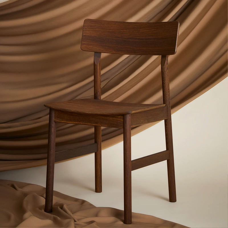 Woud Pause Dining Chair , Smoked Oak