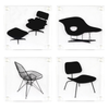 Moma Eames® Chair Coasters Set of 4