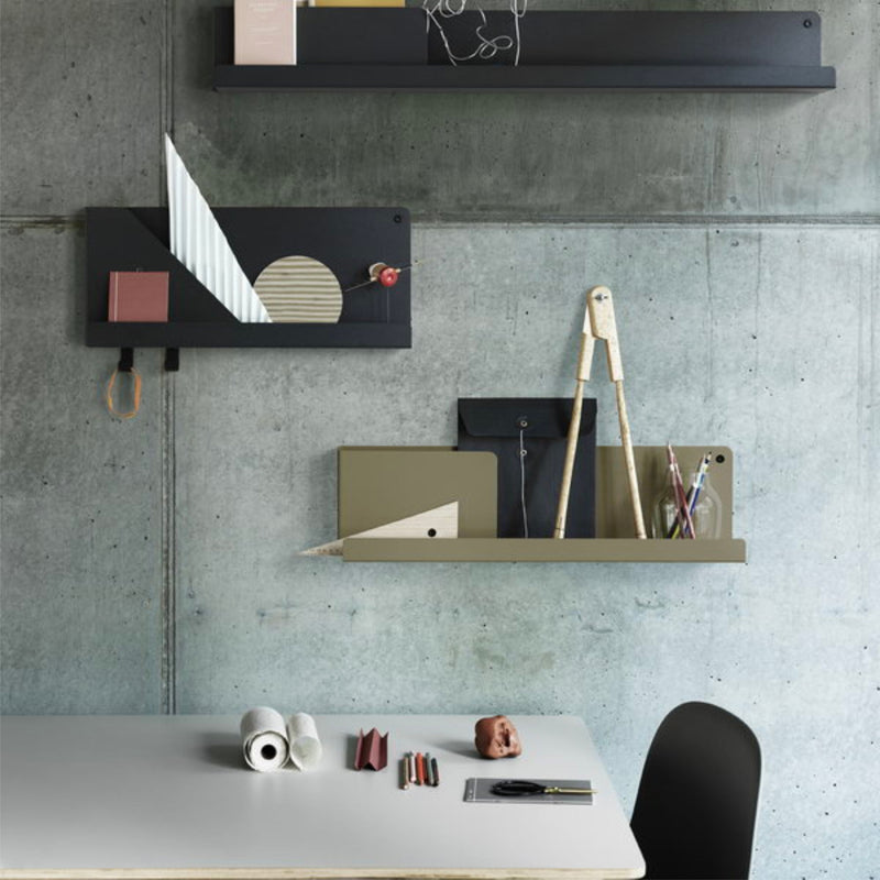Muuto Folded Shelves 63x16,5cm , Olive