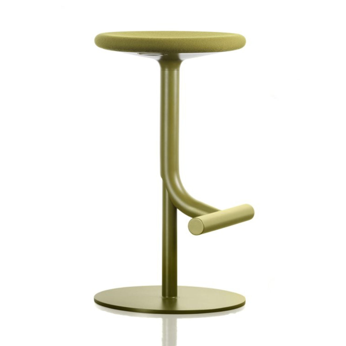 Magis Tibu bar stool fabric seat kvadrat steelcut 2