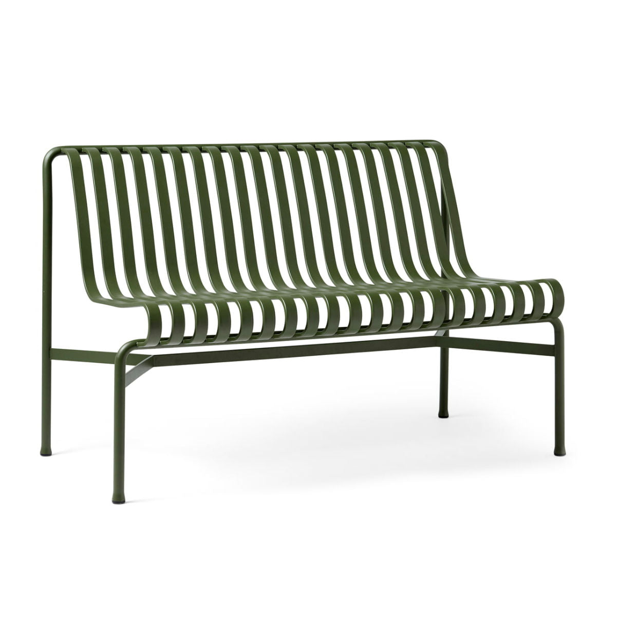 Hay Palissade dining bench without armrest