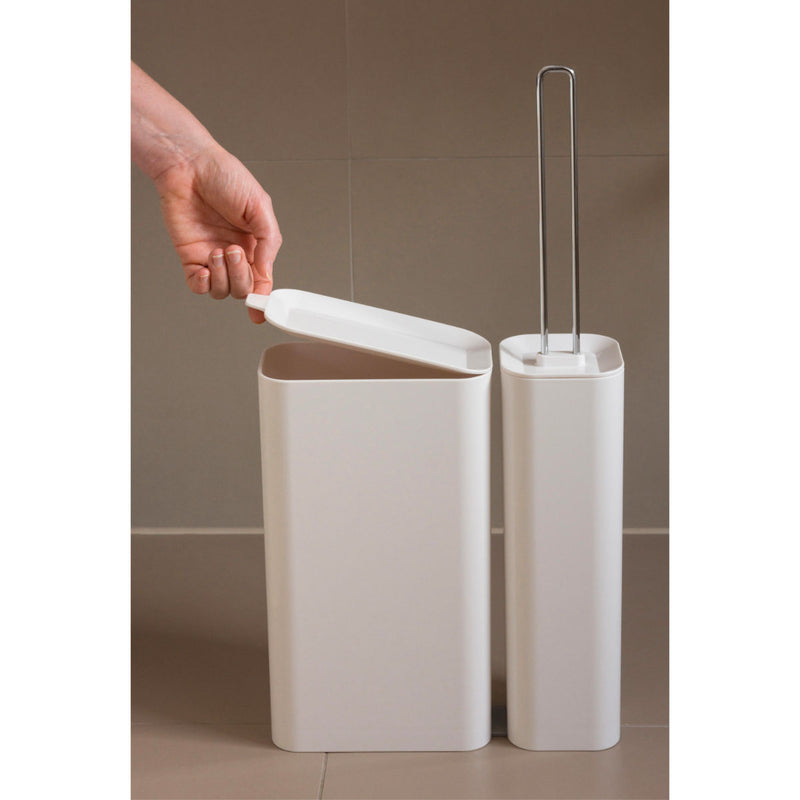 Studio Domo Privy toilet brush and waste bin set