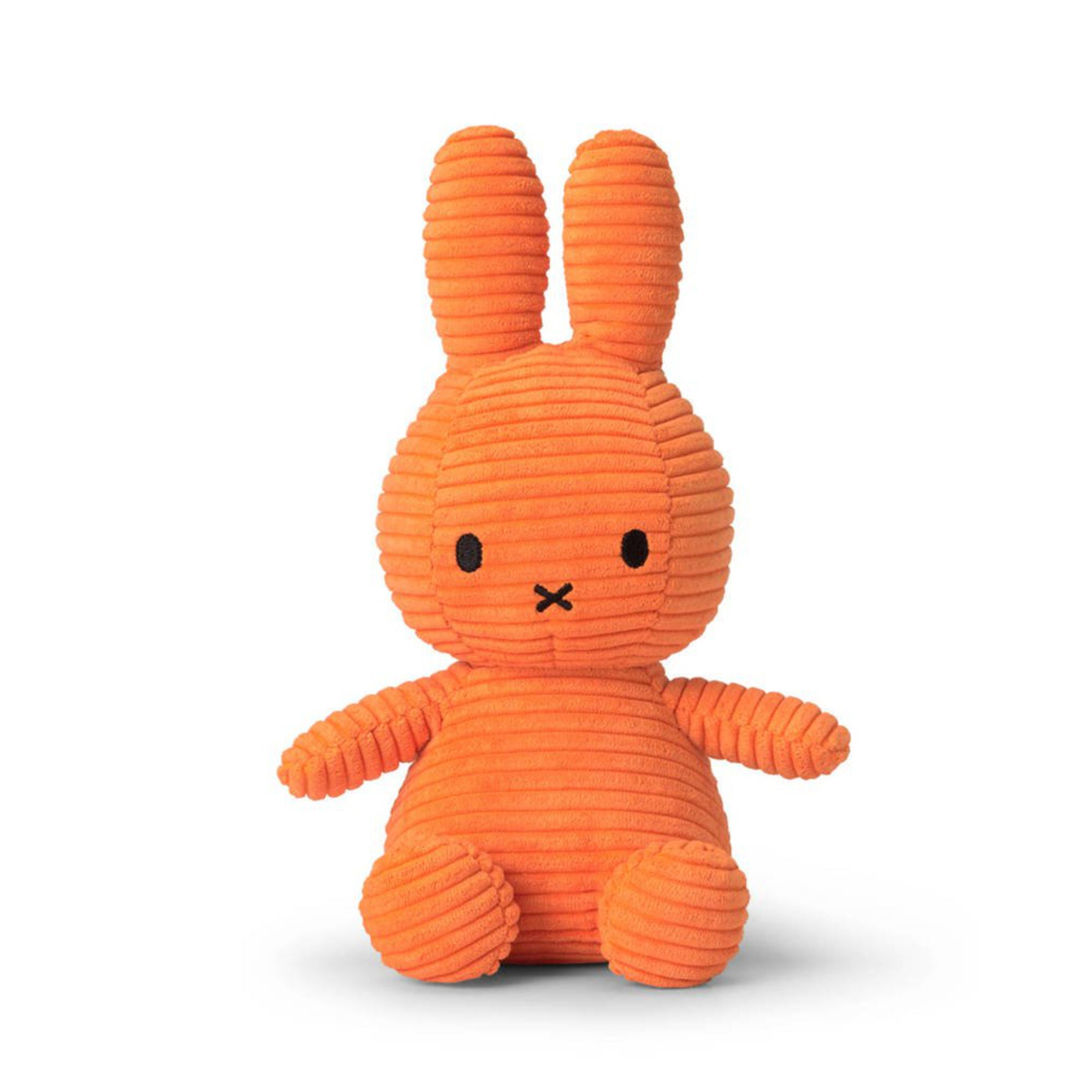 Miffy Corduroy Plush 23cm , orange