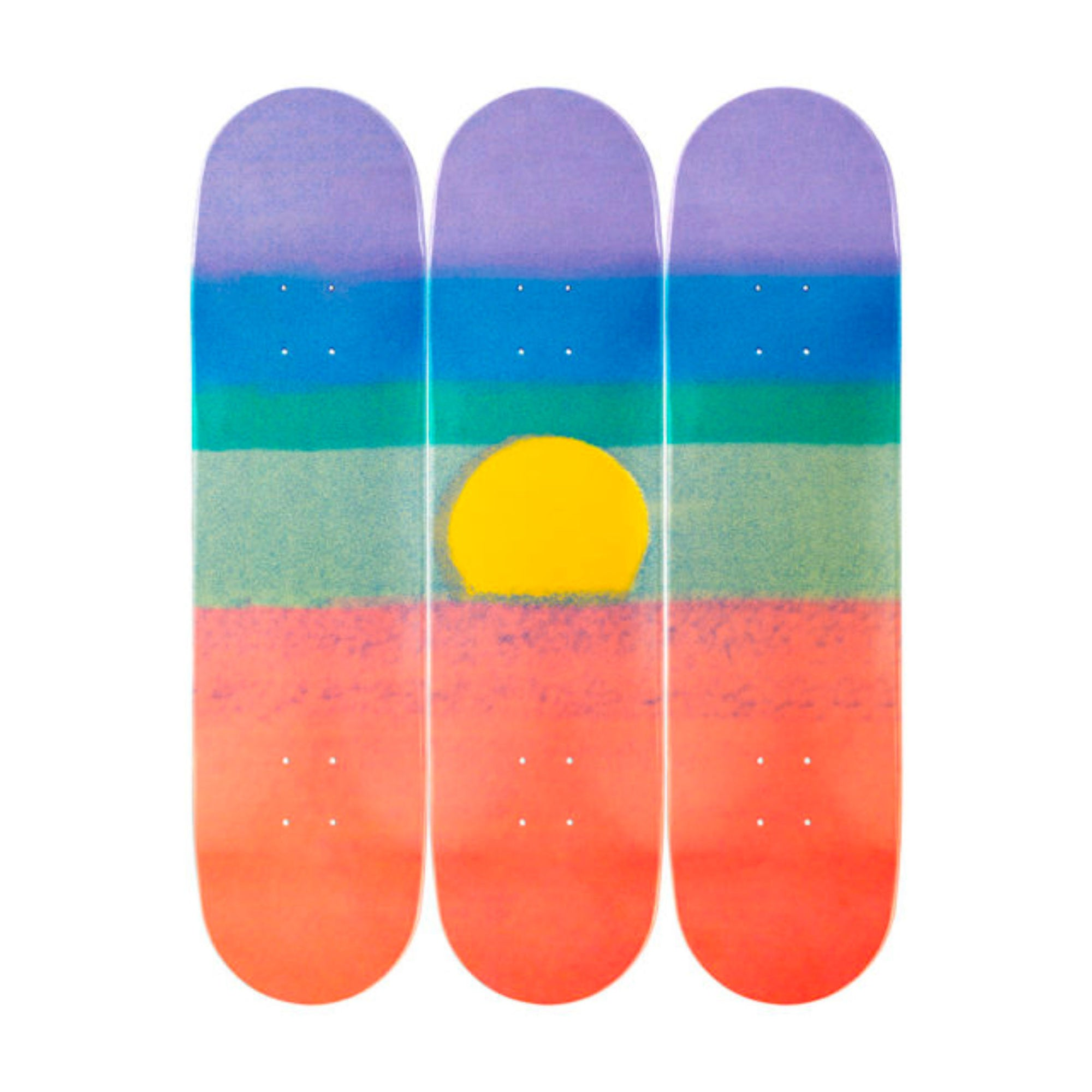 The Skateroom skateboard, Andy Warhol Sunset Orange