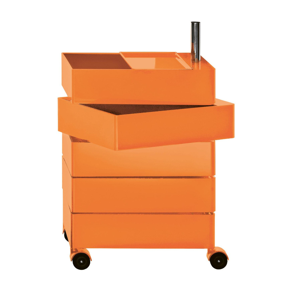 Magis 360° Container by Konstantin Grcic 5 Drawers Orange