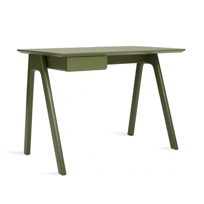 Blu Dot Stash desk, olive