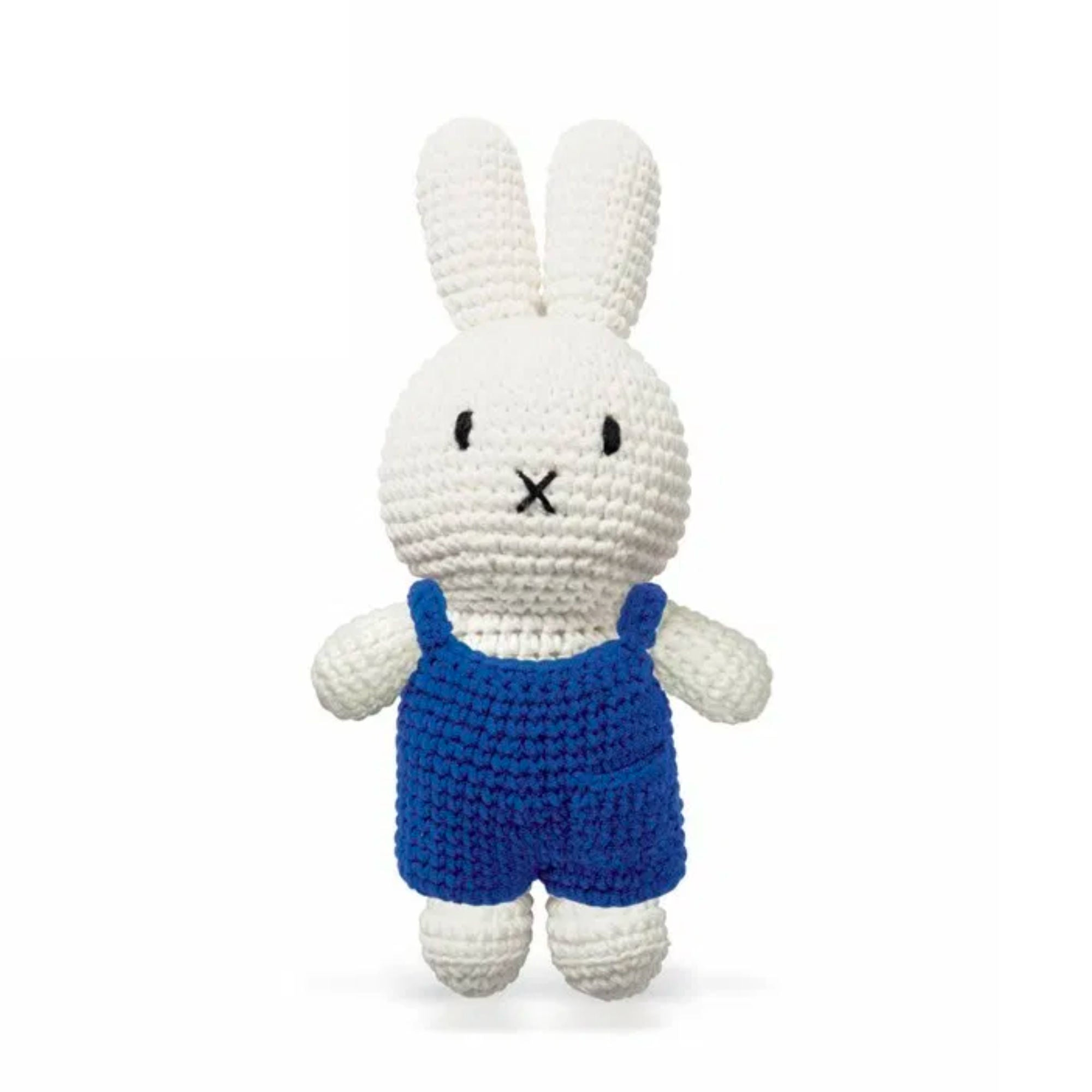 Just Dutch handmade doll, Miffy and her blue overall