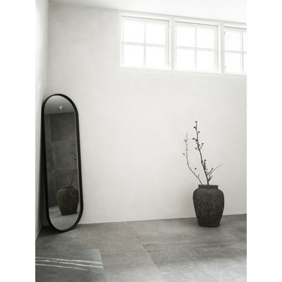Menu Norm Oval Wall Mirror , Black