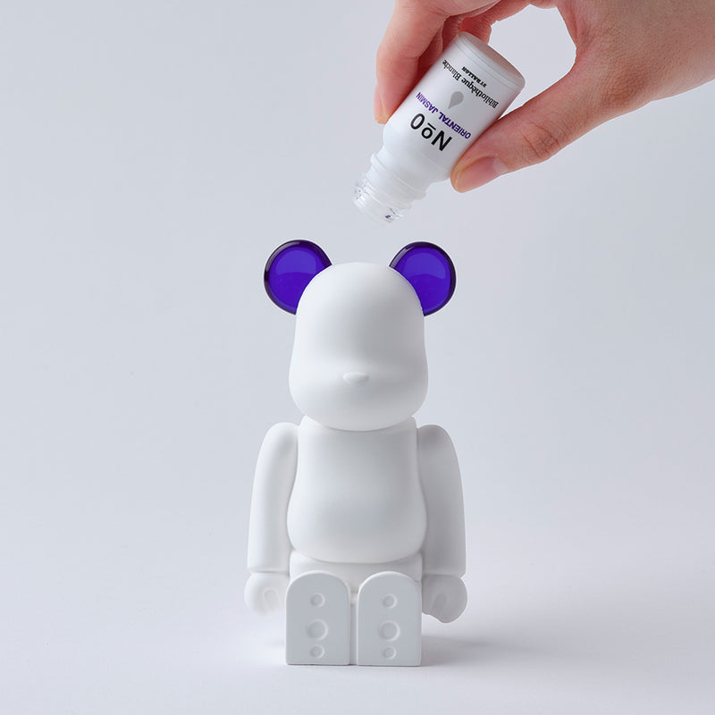 Bibliotheque Blanche x Medicom BE@RBRICK Aroma Ornament #0 purple