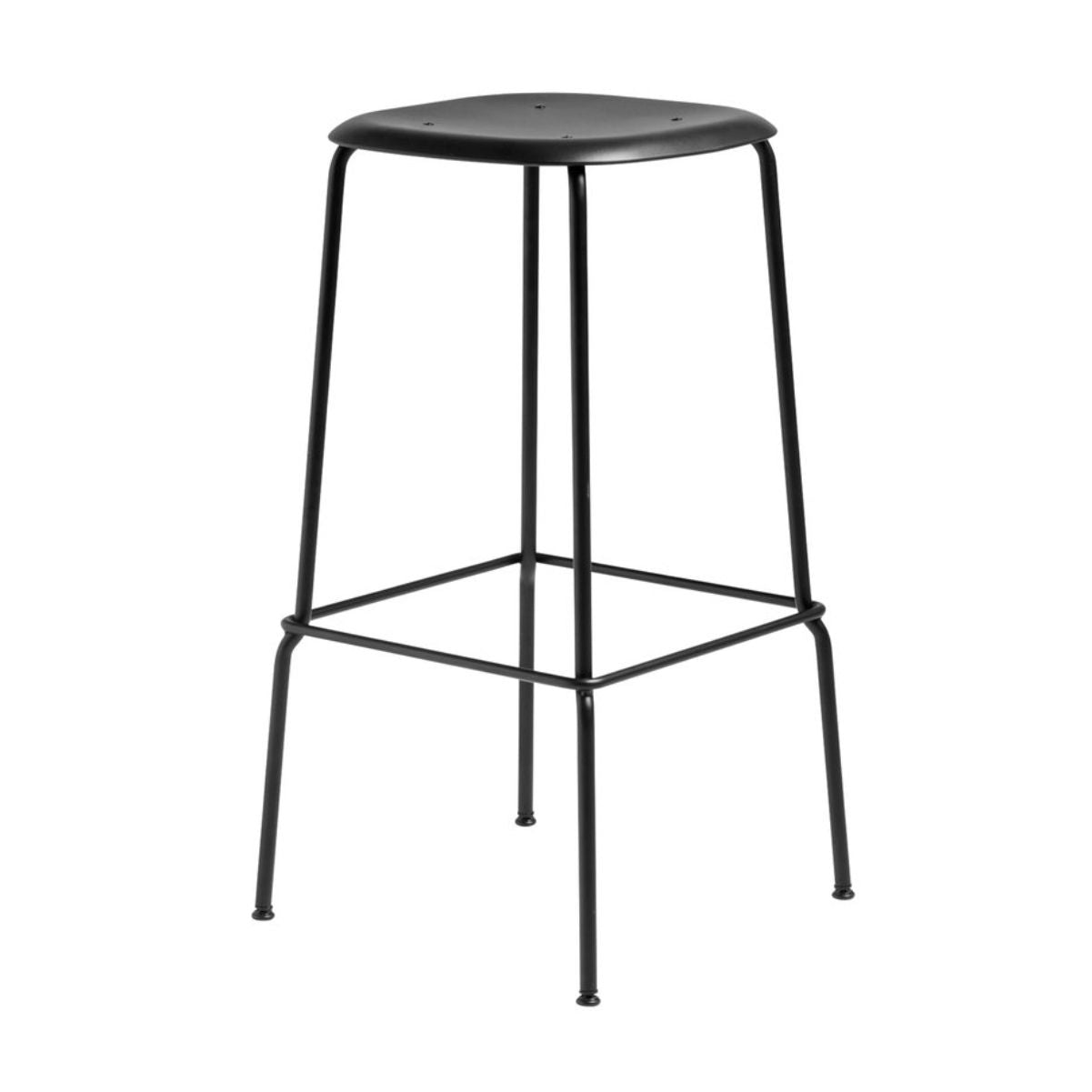 Hay Soft Edge P30 bar stool, black