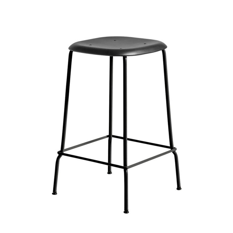 Hay Soft Edge P30 bar stool, black, black
