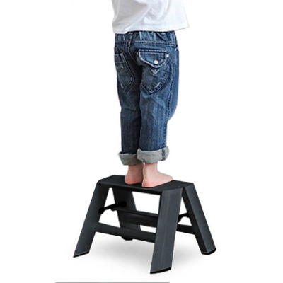 Metaphys Lucano step ladder, 1 step, black