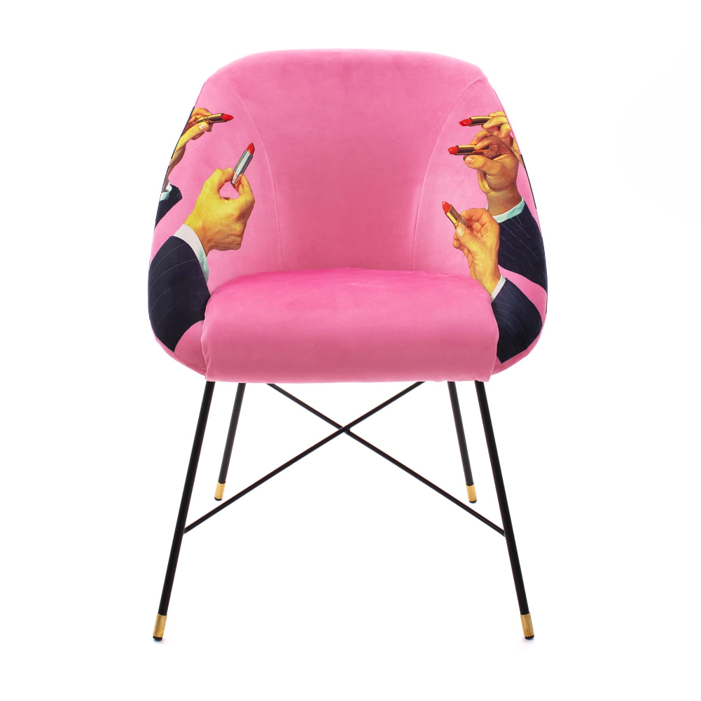 Seletti Toiletpaper Upholstered Chair