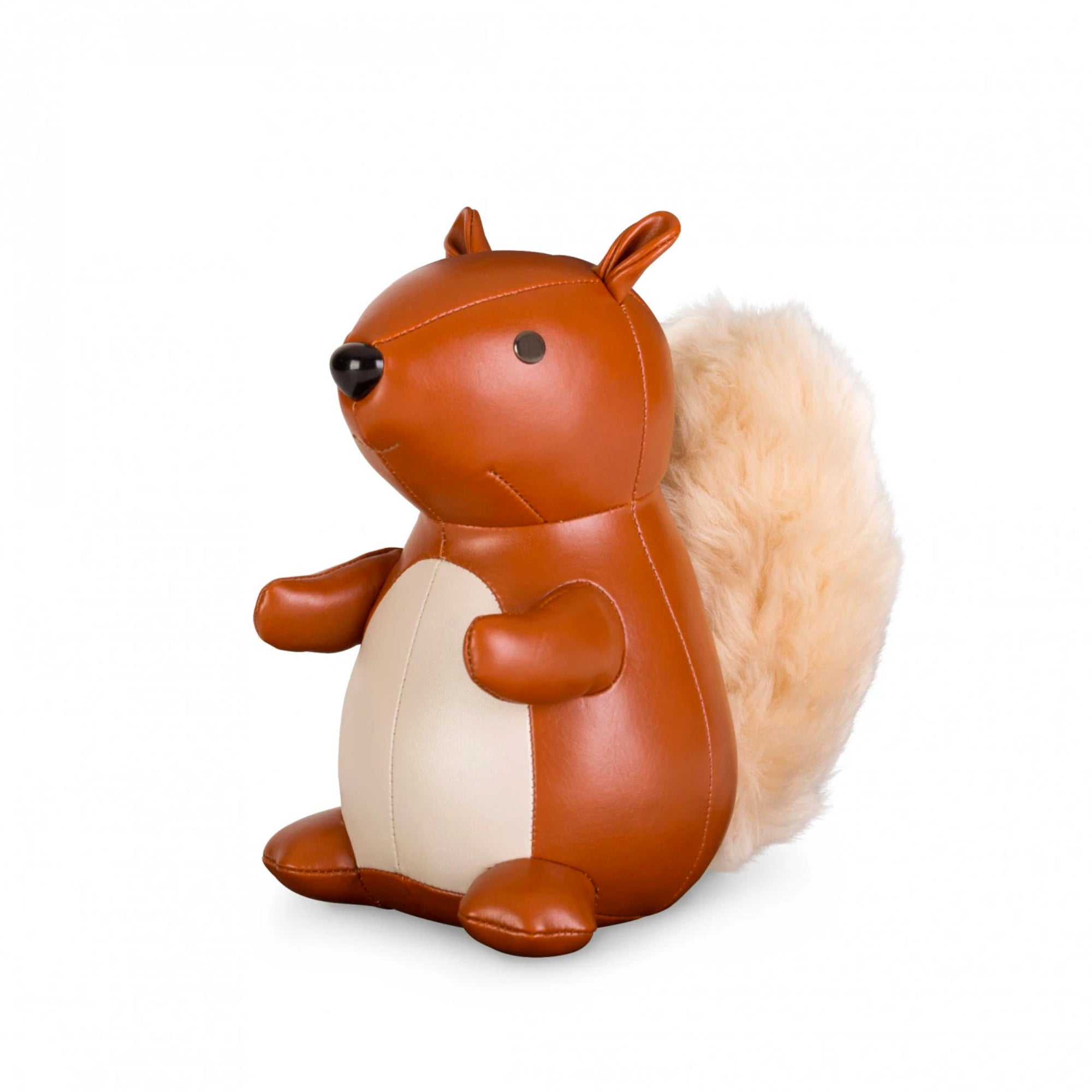 Zuny Classic Squirrel paperweight, tan - wheat