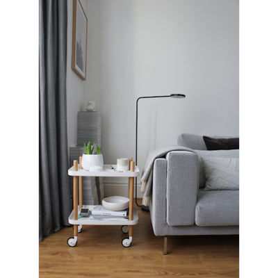 Normann Copenhagen Block Table , Light Grey-Oak