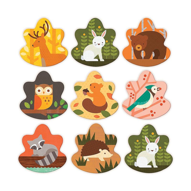 Petit Collage Memory Game Forest Animals