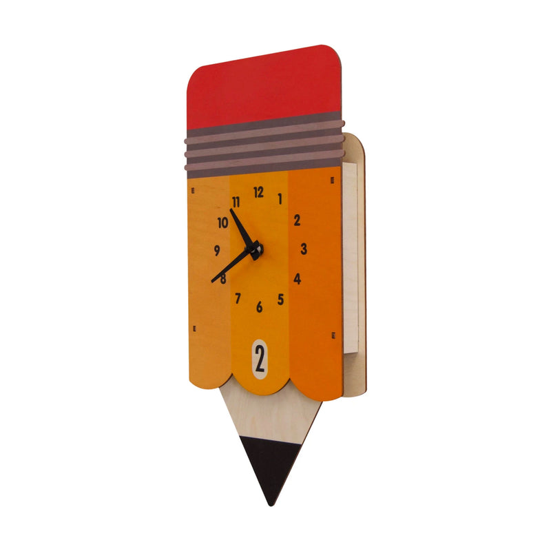 Modern Moose Pendulum Clock , Pencil