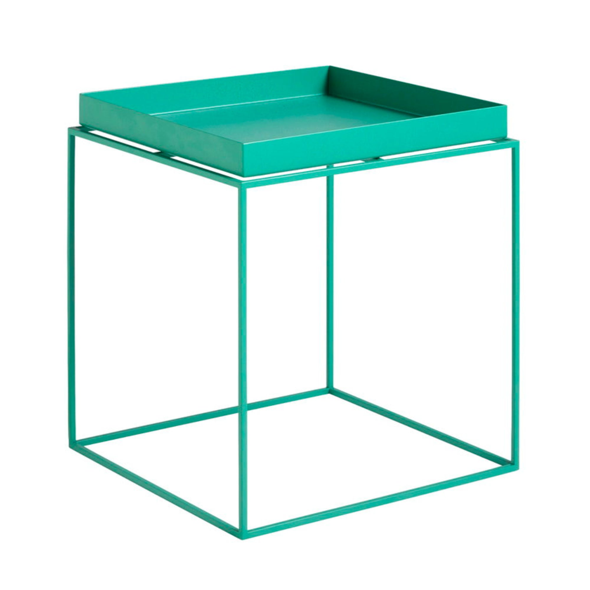 Hay Tray Table Side Table M , Peppermint Green