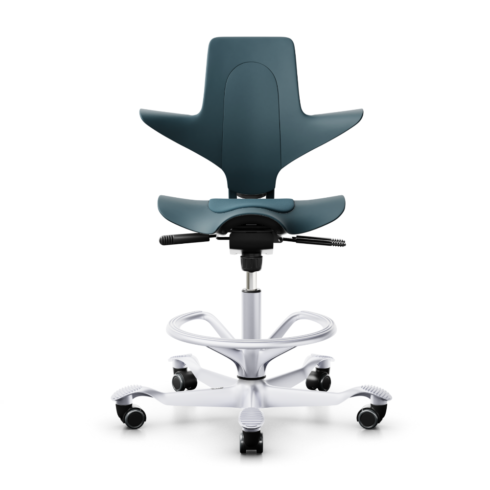HÅG Capisco Puls 8010 ergonomic chair, petroleum