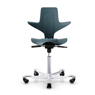 HAG Capisco Puls 8010 ergonomic chair, petroleum