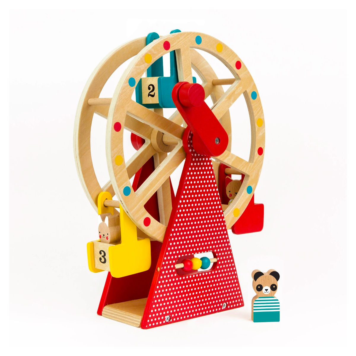 Petit Collage Carnival Ferris Wheel play set