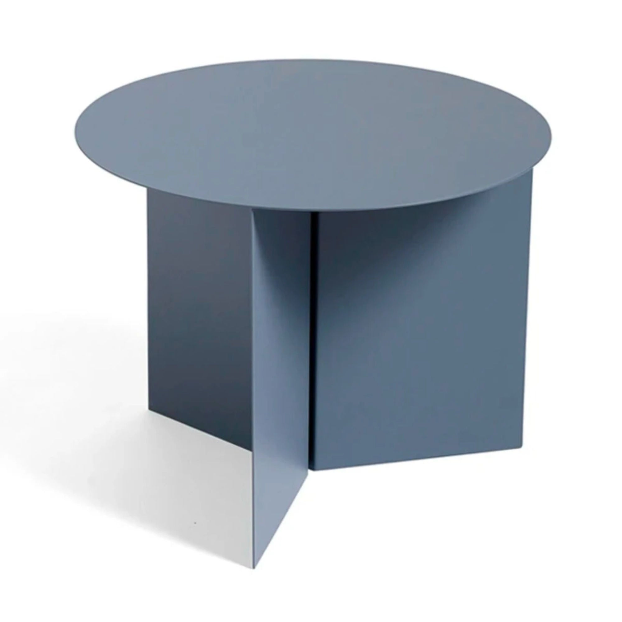 Hay Slit Coffee Table Round Φ45 , Petrol Grey