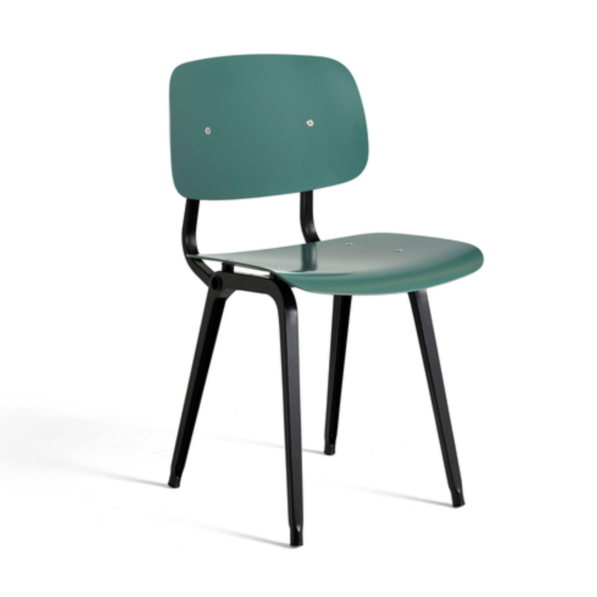 Hay Revolt Chair , Petrol Green-Black