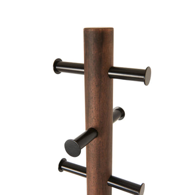 Umbra Pillar coat rack, black