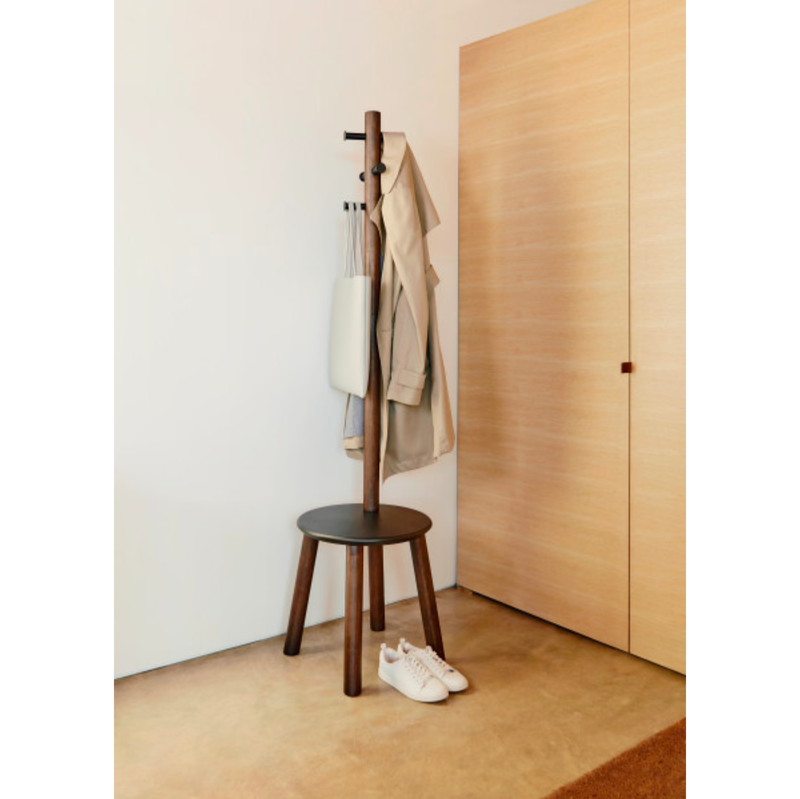 Umbra Pillar stool & coatrack