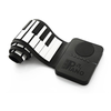 Roll-Up Piano 37Keys , Black White