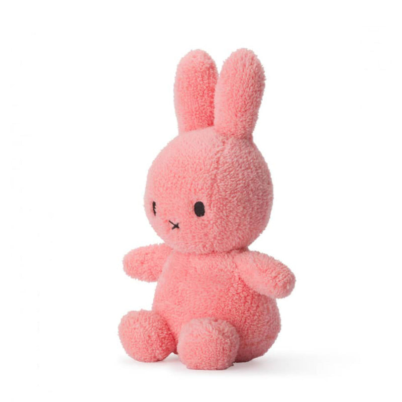 Miffy Sitting Terry Soft Toy 23cm , Pink