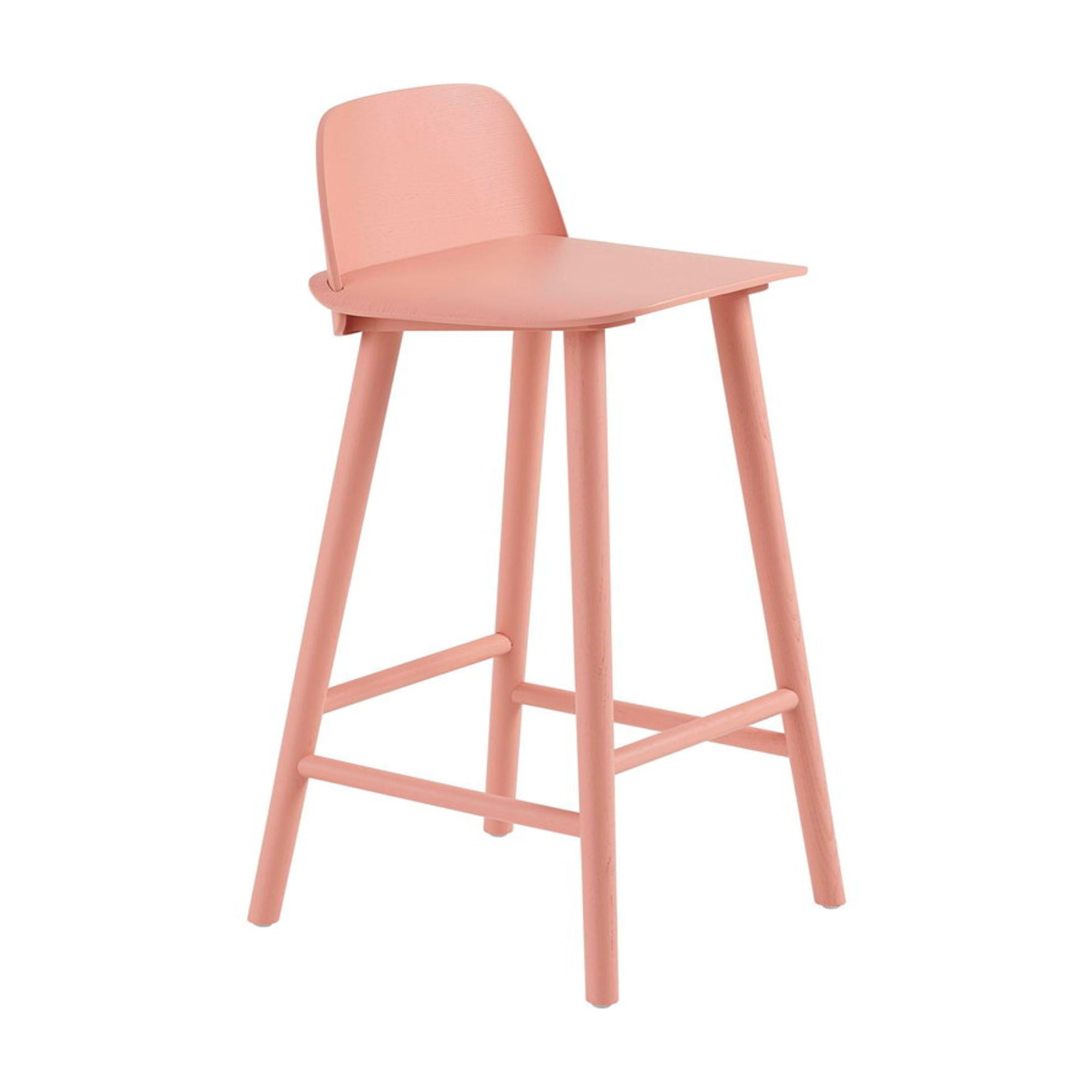 Muuto Nerd Counter Stool , Tan Rose (65 cm)