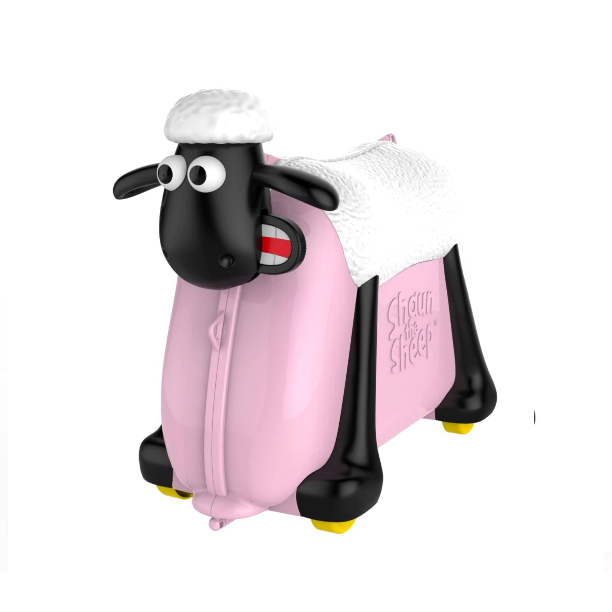 Shaun the Sheep Kids Ride-on Suitcase , Pink